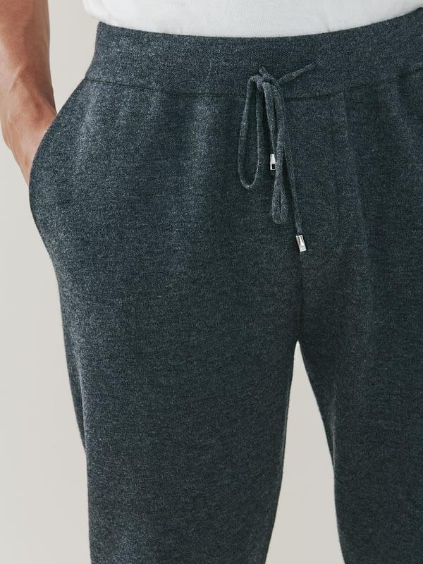 Squaw Cashmere and Merino Sweatpants - Grey
