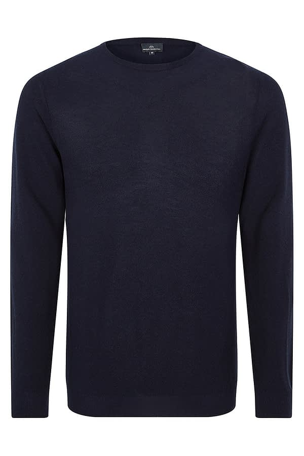 CONNERY - Navy crew neck
