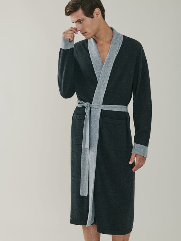 Stow Bathrobe - Grey
