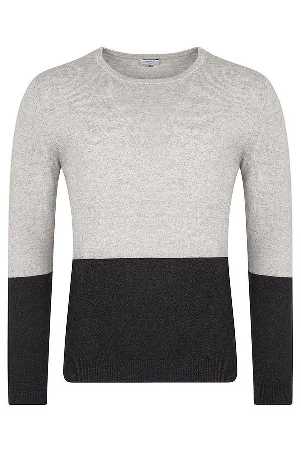 Ayr Crew Neck Soft Grey Sweater